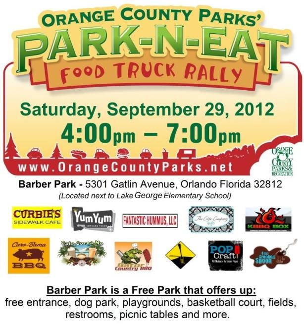Park-N-Eat!  We love Orange County Parks!