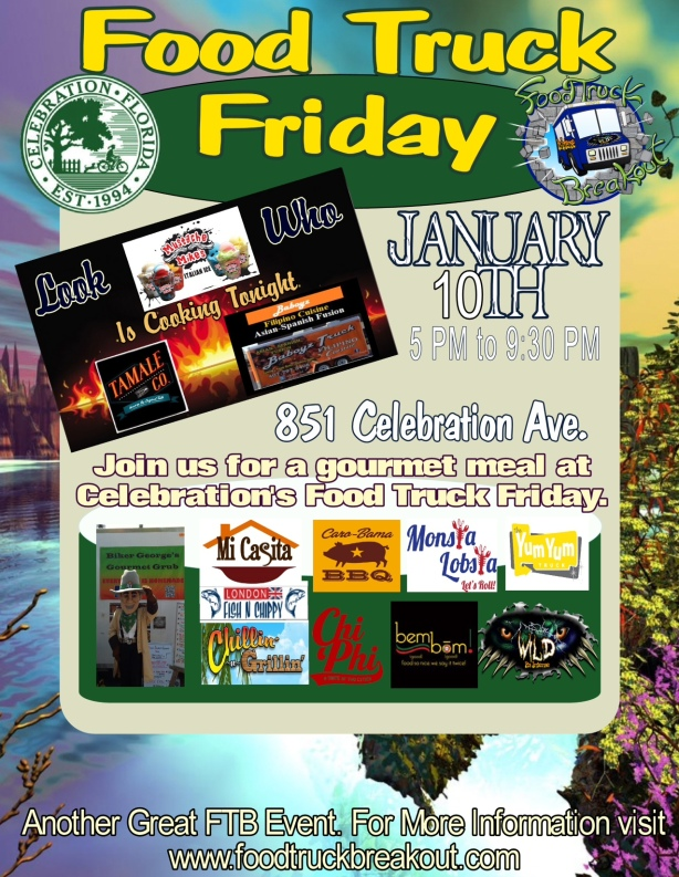Celebration, Friday, January 10